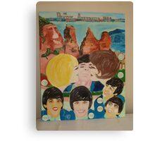The Beatles & Sisters Australiana 1964 : Feelings Canvas Print