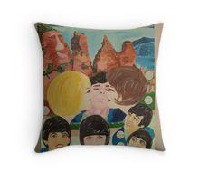 The Beatles & Sisters Australiana 1964 : Feelings Throw Pillow