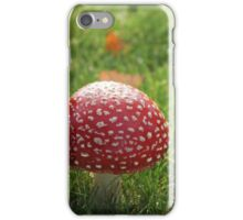 Toadstool Enchantment iPhone Case/Skin
