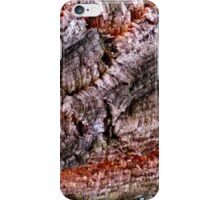 Textured Cork Tree Abstract iPhone Case/Skin