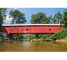 Putnam County Covered Bridge Photographic Print
