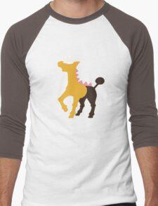 The Giraffe Men's Baseball ¾ T-Shirt