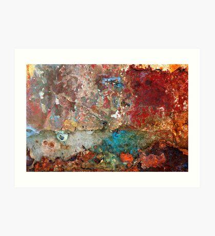Nautical Abstract Art Print