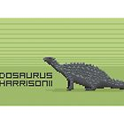 Pixel Scelidosaurus by David Orr