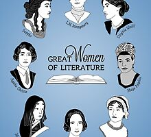 Great Women of Literature by geeksweetie