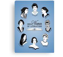 Great Women of Literature Canvas Print