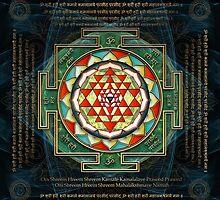 Maha Lakshmi (Laxmi) Mantra & Shri Yantra - Wealth Giving by Olga Kuczer