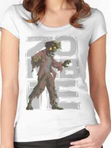 Corporate Zombie Women's Fitted Scoop T-Shirt