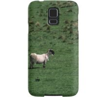 Sheep grazing at Banks East Turret Hadrian's Wall England 198405260044 Samsung Galaxy Case/Skin