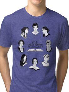 Great Women of Literature Tri-blend T-Shirt