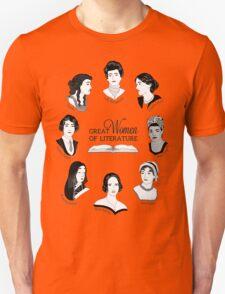 Great Women of Literature Unisex T-Shirt