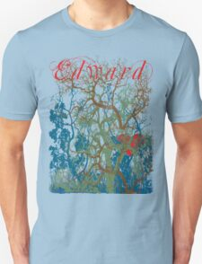 Tangled Forest with Beating Heart and the word EDWARD T-Shirt