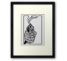 Smoking Gun Framed Print