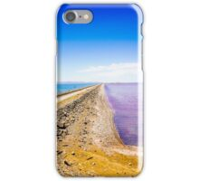 Great Salt Lake Causeway iPhone Case/Skin