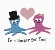 I'm a Sucker For You! Cute Octopi Kids Tee