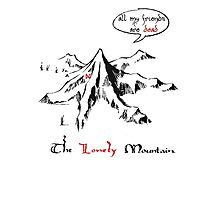 The really lonely mountain Photographic Print