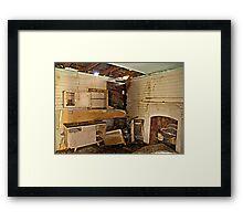 Prime Real Estate-The Kitchen Framed Print