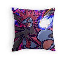 Hydreigon   Draco Meteor Throw Pillow