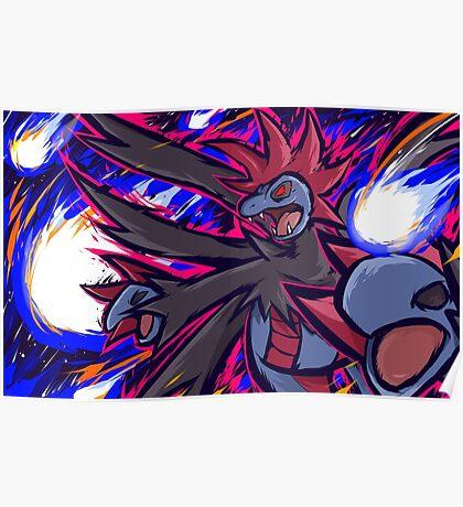 Hydreigon | Draco Meteor Poster