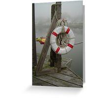 Booth Bay Harbor Greeting Card
