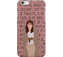 "Les Mis ""On My Own"" iPhone Case/Skin"