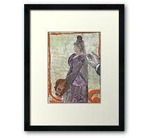 Wind-Up Bride Framed Print