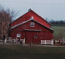another red barn by donna.k. nolan