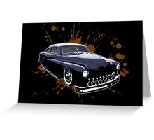 1950 Merc Greeting Card