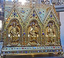 Reliquary Casket Of Charles the Good by Graeme  Hyde