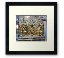 Reliquary Casket Of Charles the Good Framed Print