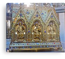 Reliquary Casket Of Charles the Good Metal Print