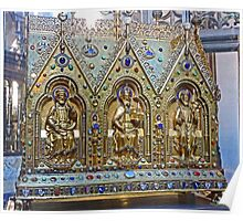Reliquary Casket Of Charles the Good Poster