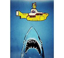 Jaws-Yellow Submarine  Photographic Print