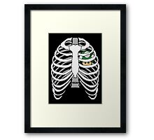 The Plumber's Heart Framed Print