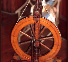 Old Spinning Wheel by jaycee