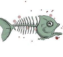 The Fish Skeleton by grosvenordesign