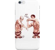 Limber up iPhone Case/Skin