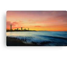 Gold Coast Sunset Canvas Print