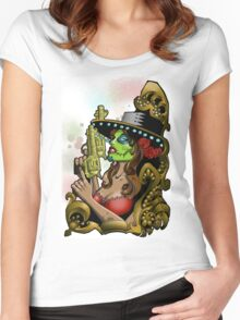 Bandita Candy Version 2 Women's Fitted Scoop T-Shirt