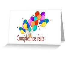 Cumpleanos feliz Greeting Card