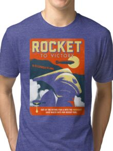 Rocket To Victory Tri-blend T-Shirt