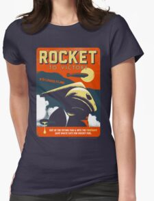 Rocket To Victory Womens Fitted T-Shirt
