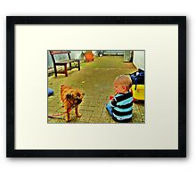 Shall We Dance Framed Print