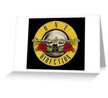 One Direction x Guns N' Roses Greeting Card
