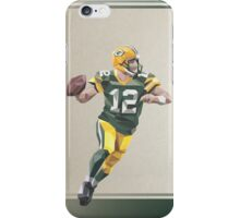 Aaron Rodgers Low Poly Art iPhone Case/Skin