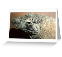 Komodo Dragon (Varanus Komodoensis) Greeting Card