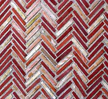 Colours of a Herringbone Pattern by Marilyn Harris