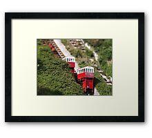 Tilt shift - Folkestone Framed Print