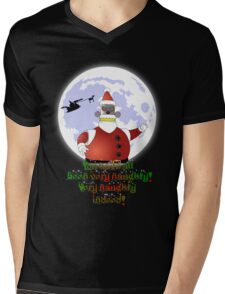 VERY NAUGHTY INDEED !!! Mens V-Neck T-Shirt