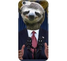 Obama Sloth iPhone Case/Skin
